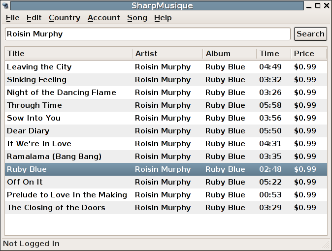 Ruby Blue at the iTunes Music Store