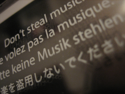 iPod - Don't steal music