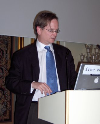 Lawrence Lessig at Kopinor's 25th anniversary